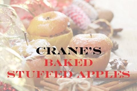 Crane's Baked Stuffed Apples