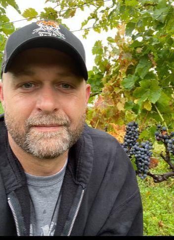 Wine-maker Eric Heavilin - Crane's Winery