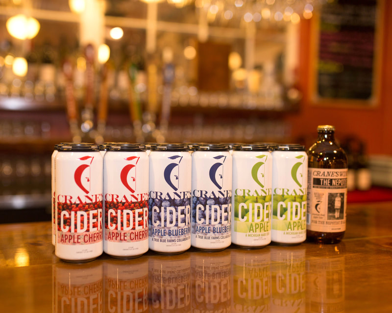 Crane's Flavored Hard Cider